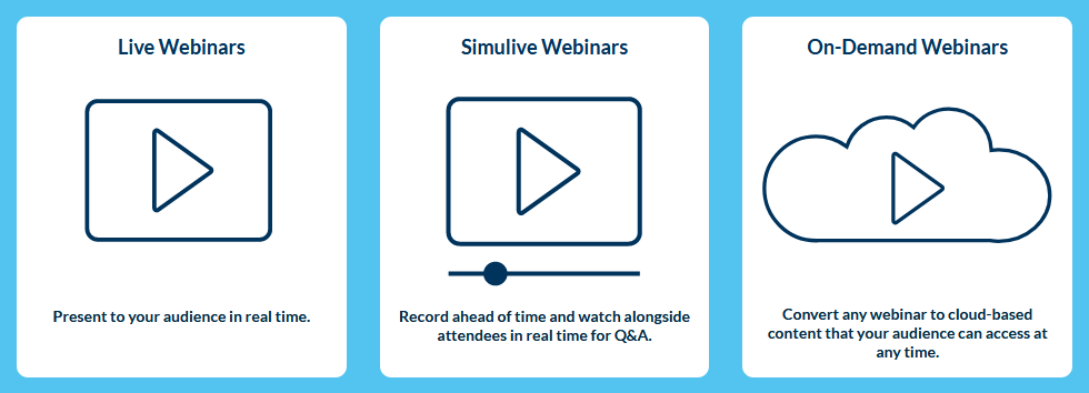 How Our Customers Use Webinars